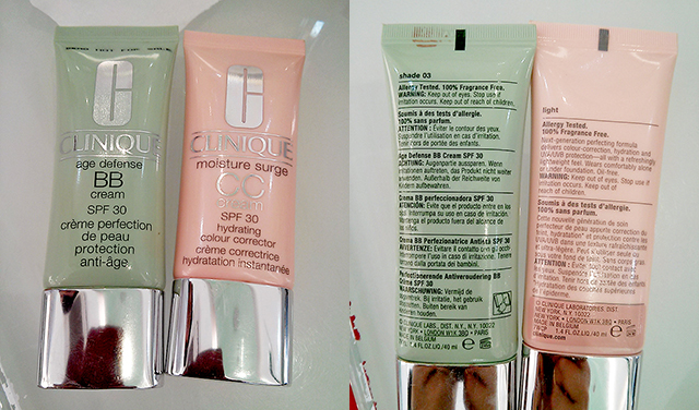 Clinique BB-cream & CC-cream
