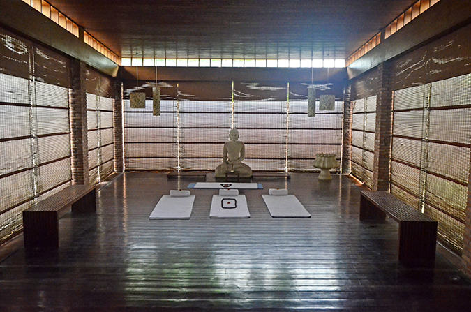 The Spa Getaway - Westin Sohna Resort & Spa - Yoga Room