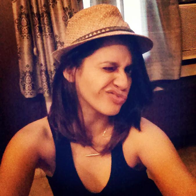 { Au revoir August } - Studded Hat