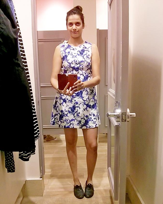 { Au revoir August } - Forever21 Dress