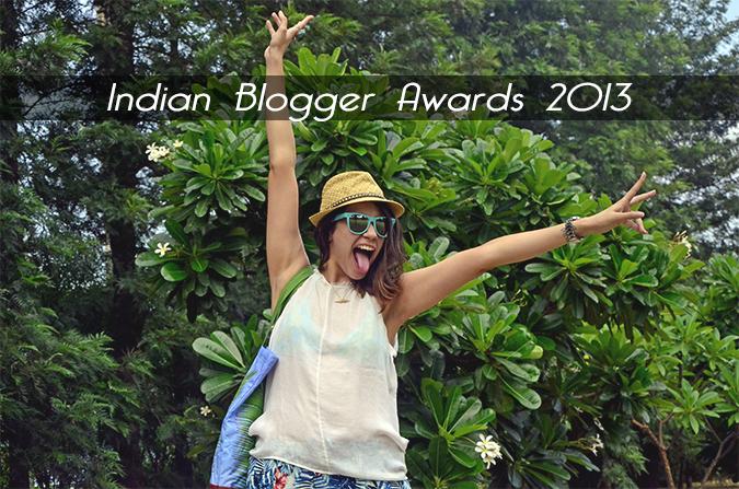 Indian Blogger Awards 2013 - Fashion
