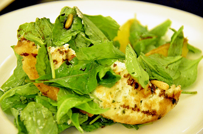 Rucola & Goat Cheese Salad - Cavalli Caffe Emporio