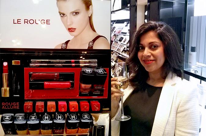 Chanel Beauty - { Store Launch } - Lip Colors & Naina