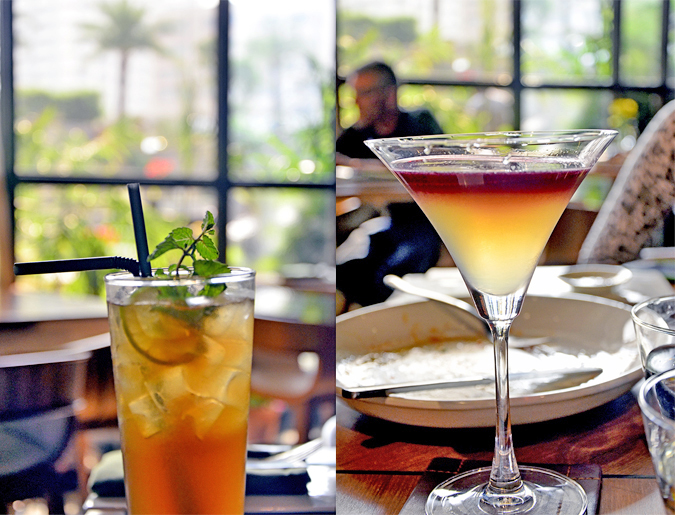 Fio Cookhouse & Bar - Long Island Iced Tea | Belini Martini | Akanksha Redhu