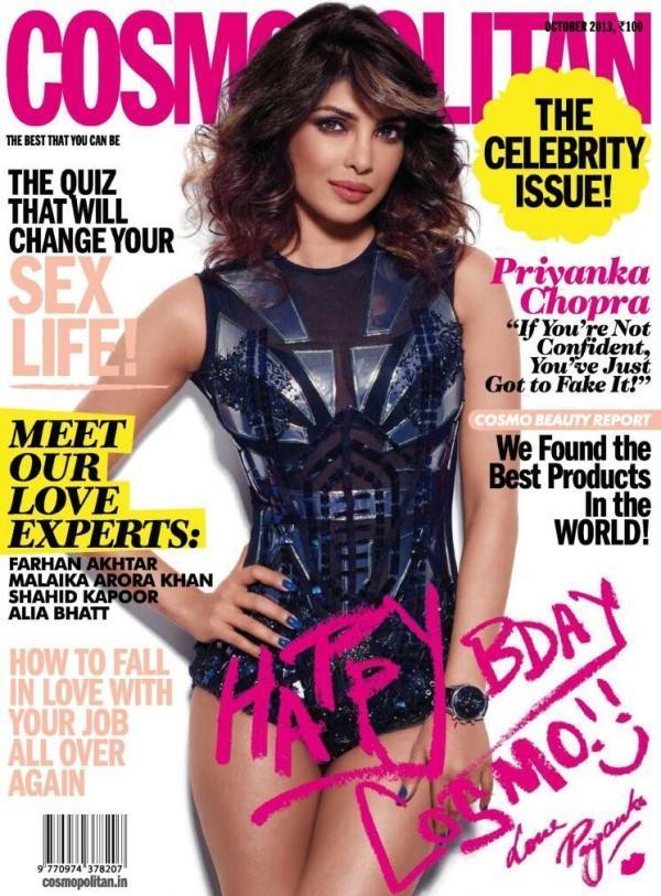 Cosmoppolitan Magazine { October 2013 }