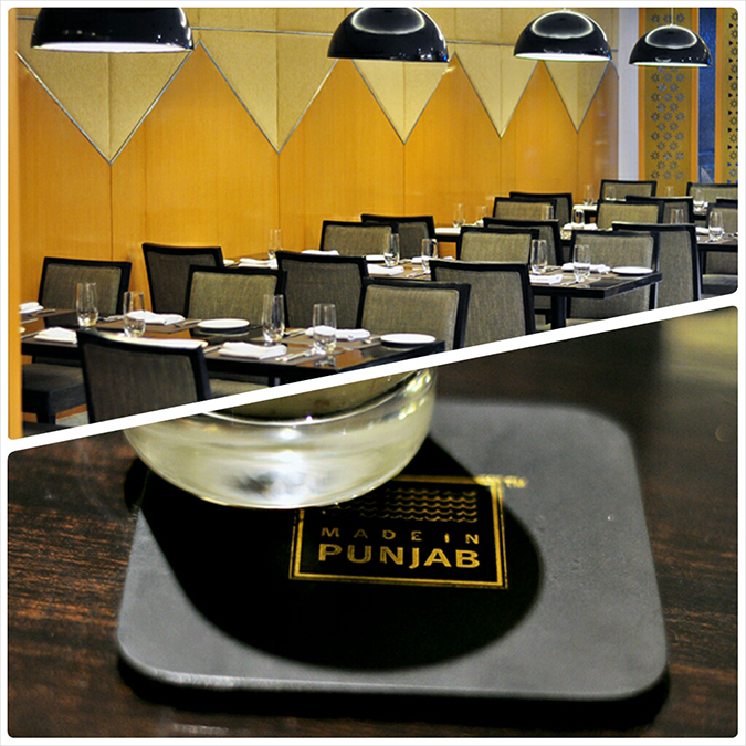 { Made in Punjab } :: Restaurant by Zorawar Kalra | www.akanksharedhu | Interiors & Coaster