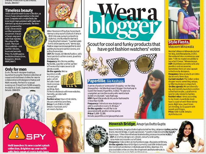 Media Feature   Indulge Chennai Newspaper   www.akanksharedhu.com