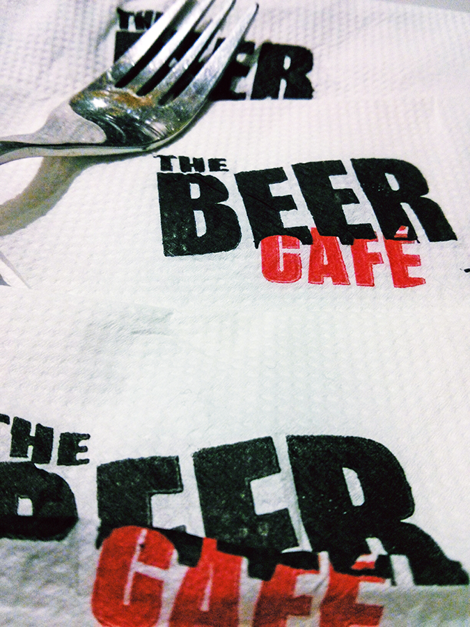 The Beer Cafe :: Gurgaon | www.akanksharedhu.com | Tissues