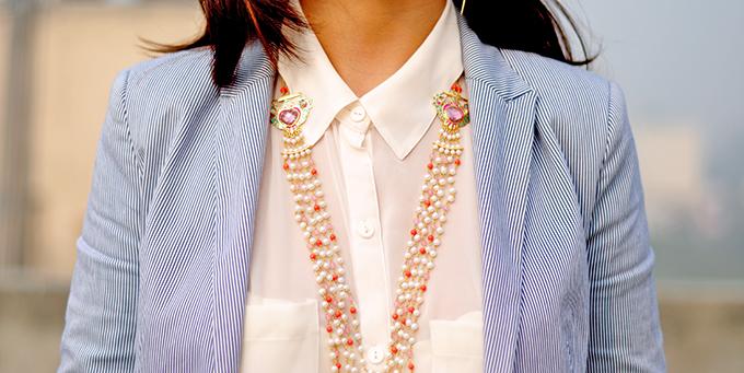 { Dior Addict } - ing | www.akanksharedhu.com | Amrapali Necklace