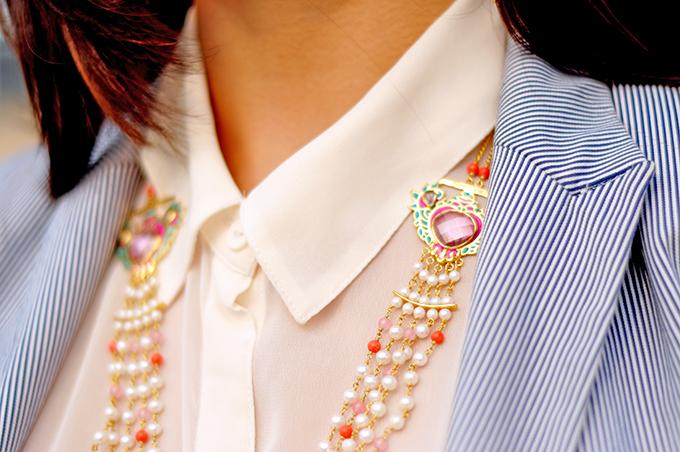 { Dior Addict } - ing | www.akanksharedhu.com | Amrapali Necklace Closeup