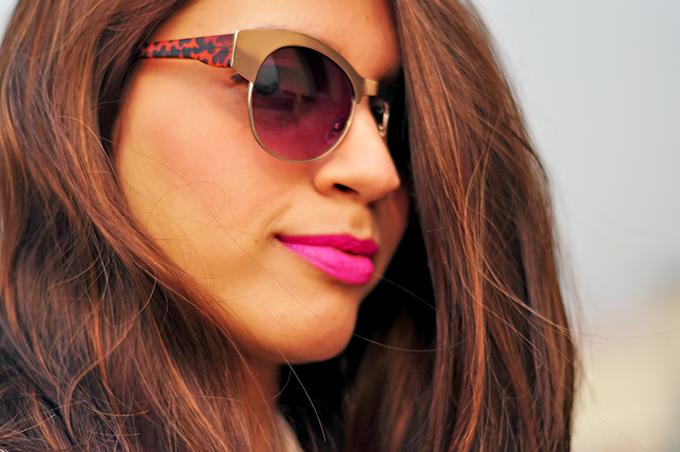 { Dior Addict } - ing | www.akanksharedhu.com | Sunglasses & Lipstick
