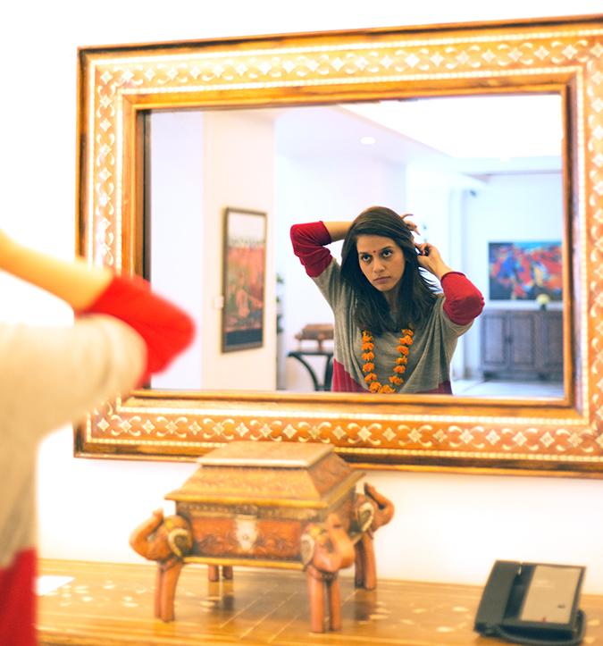 Jaipur | Le Méridien | Day 01 | www.akanksharedhu.com | In the Mirror