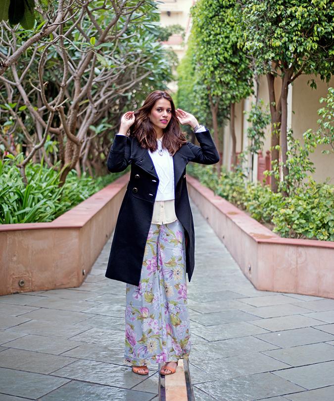 Jaipur | Le Méridien | Day 03 | www.akanksharedhu.com | outfit open hair