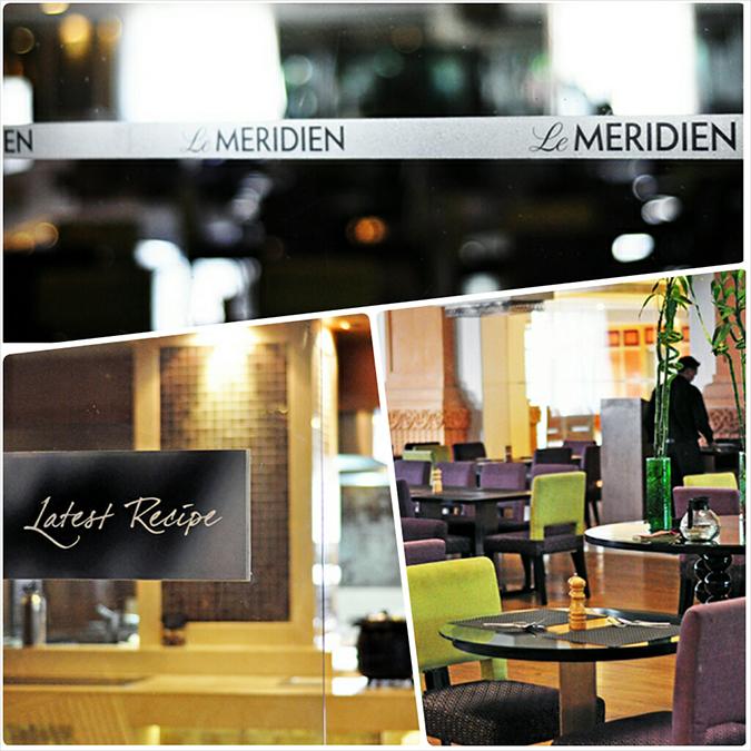 Jaipur | Le Méridien | Day 01 | www.akanksharedhu.com | Restaurant