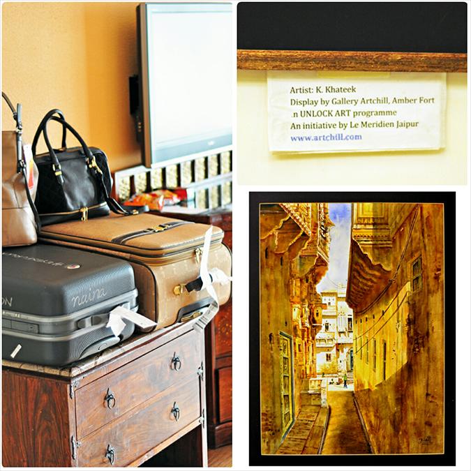 Jaipur | Le Méridien | Day 01 | www.akanksharedhu.com | Room & art