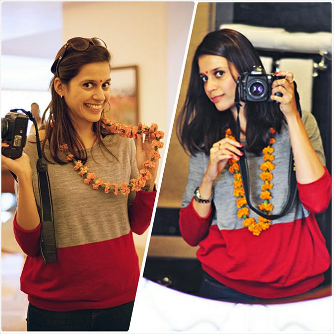 Jaipur | Le Méridien | Day 01 | www.akanksharedhu.com | Garland Combo