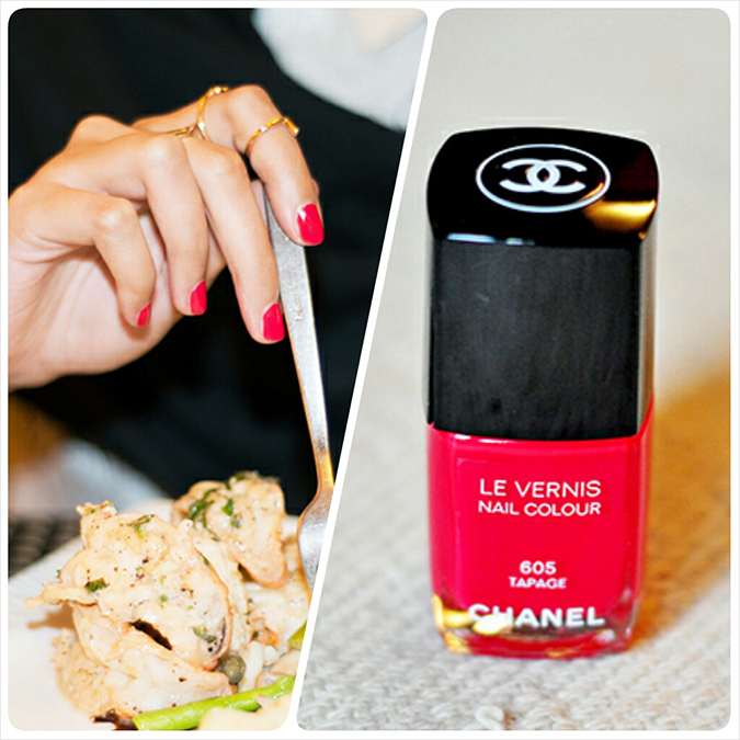 Chanel Spring 2014 { Beauty } | www.akanksharedhu.com | nail color grid