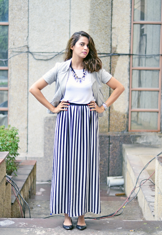 Wear Your Stripes | www.akanksharedhu.com | Front full