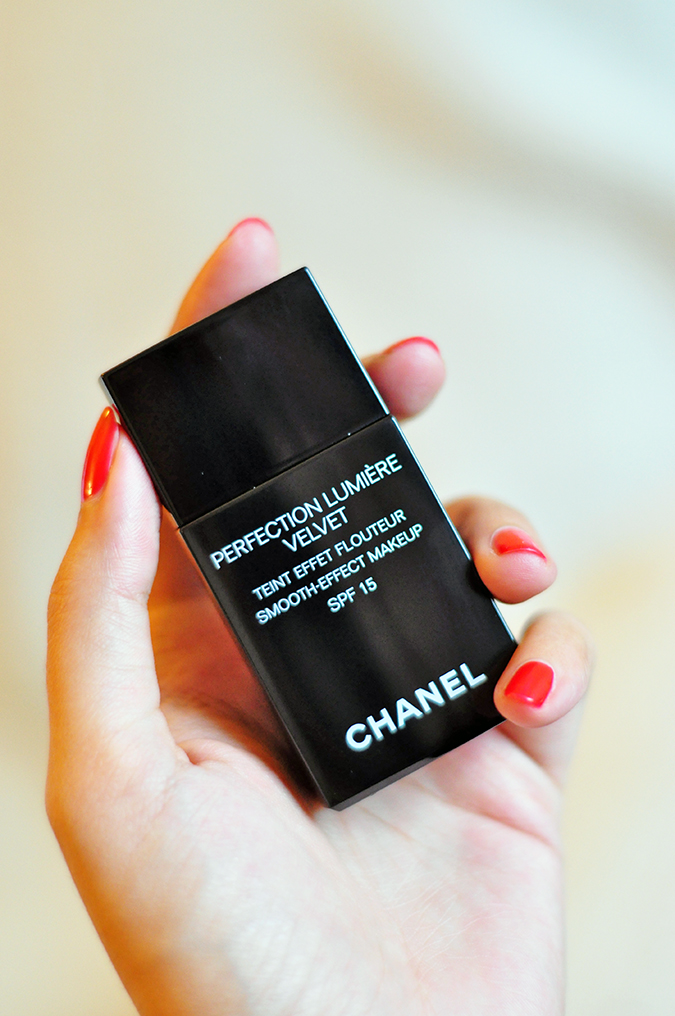 PERFECTION LUMIÈRE VELVET   Chanel   www.akanksharedhu.com   In hand single