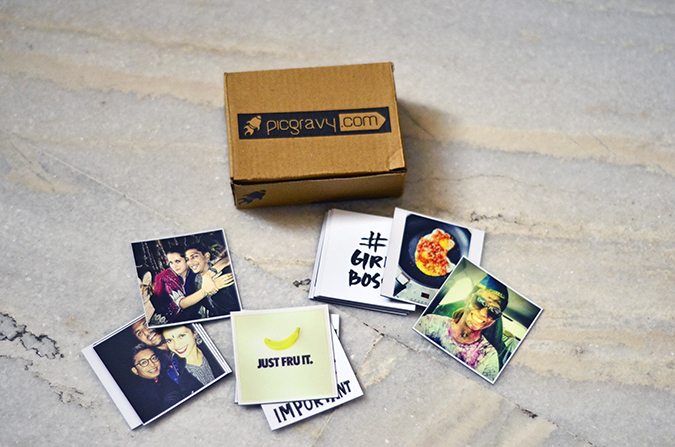 Photo Magnets from PicGravy   www.akanksharedhu.com   collective on floor with box