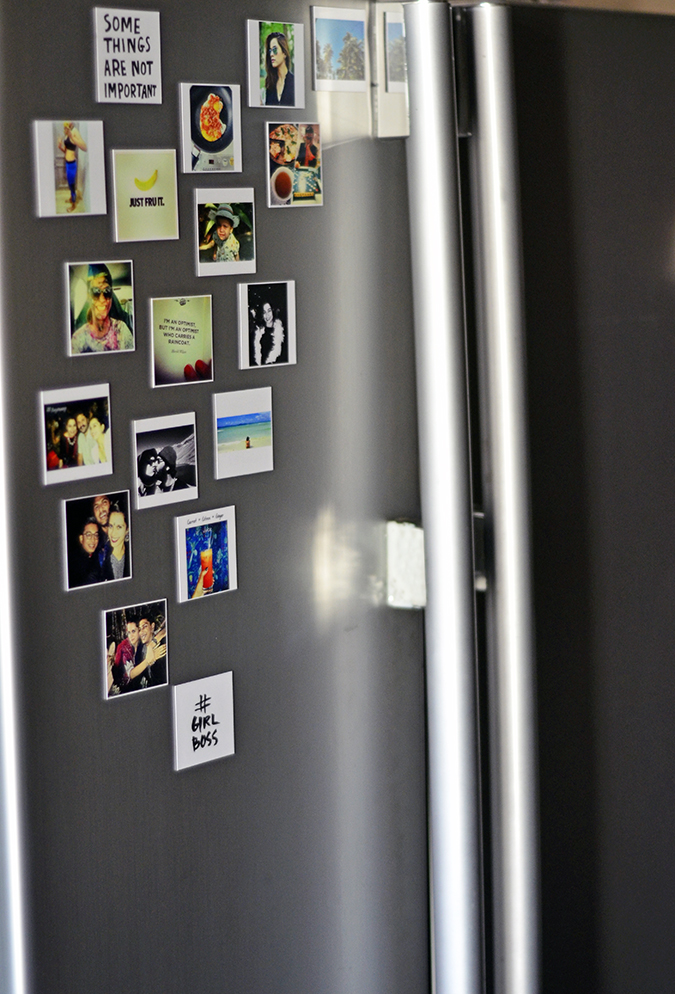 Photo Magnets from PicGravy | www.akanksharedhu.com | on the fridge