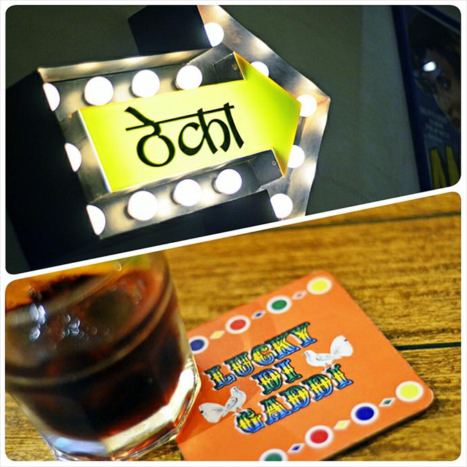 Dhaba by Claridges | www.akanksharedhu.com | Coaster & Signage