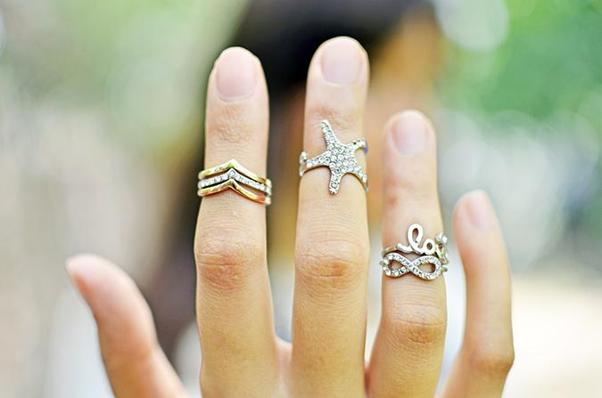 The Bling Ring | www.akanksharedhu.com | rings on fingers