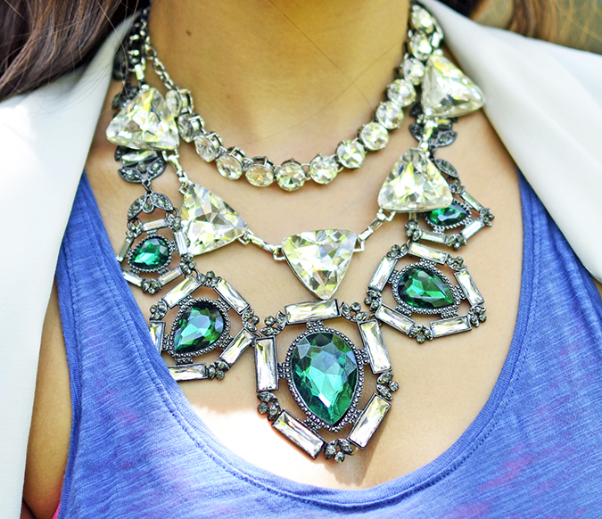 The Bling Ring | www.akanksharedhu.com | necklace close up