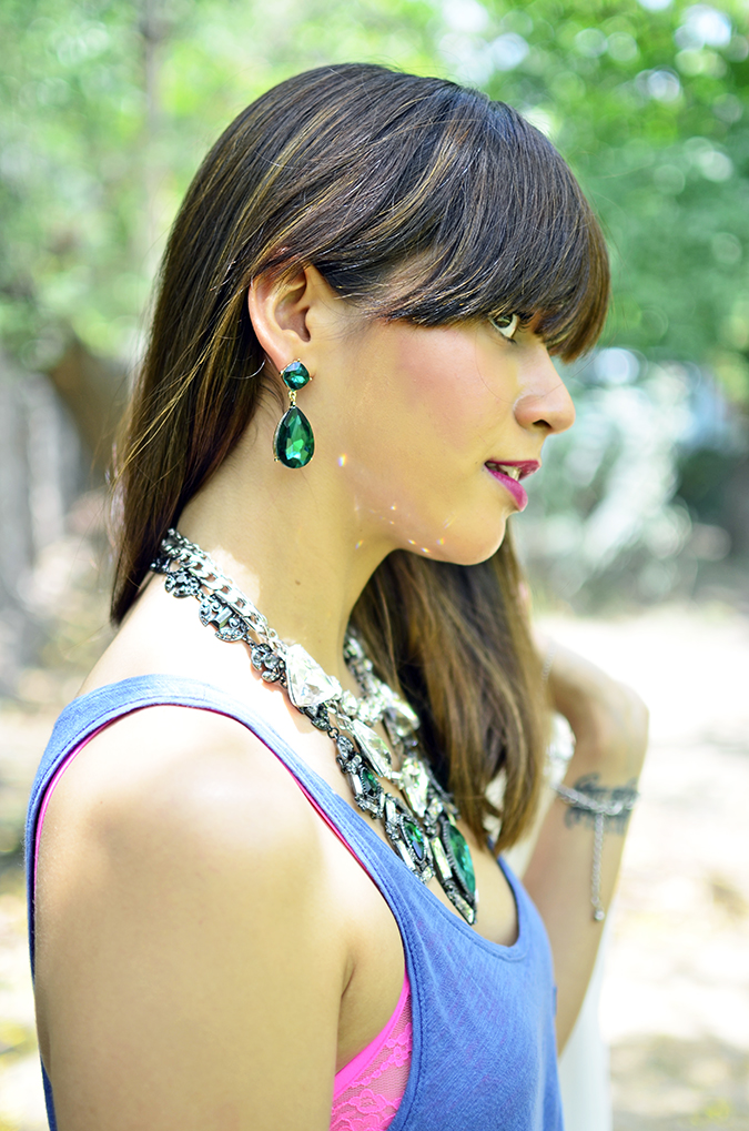 The Bling Ring | www.akanksharedhu.com | earrings & fringe