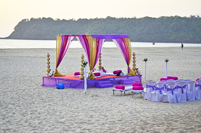 Agonda Beach | Goa | www.akanksharedhu.com | beach wedding