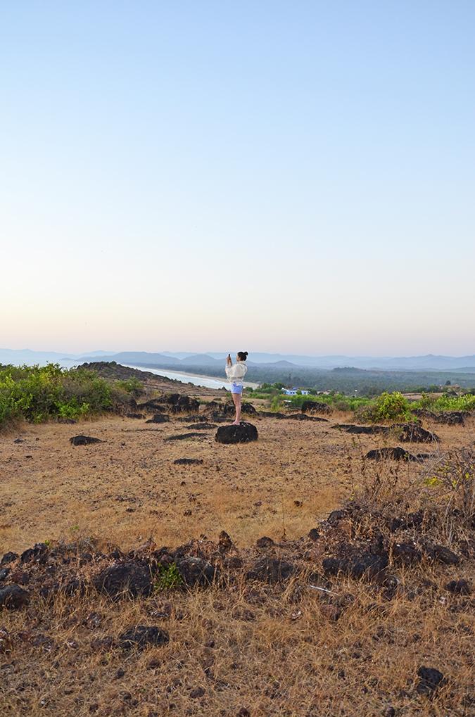 Gokarna | www.akanksharedhu.com | me clicking sunset