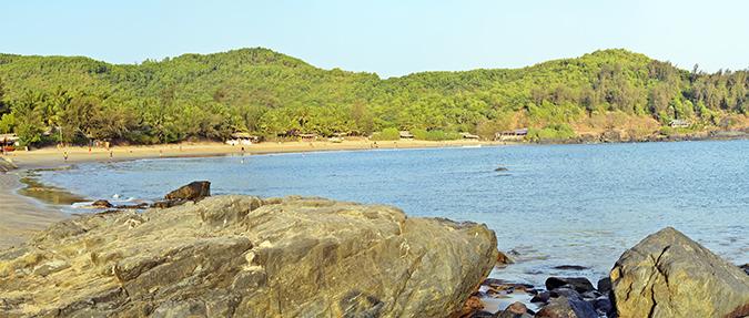 Gokarna | www.akanksharedhu.com | Om Beach Pano