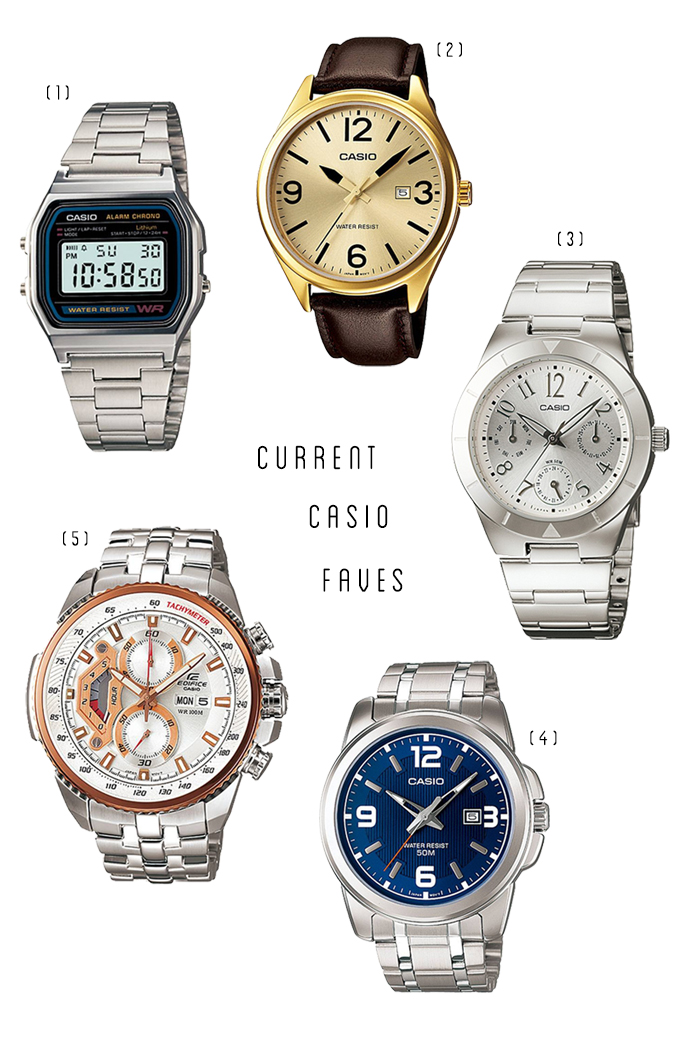 Current CASIO Faves
