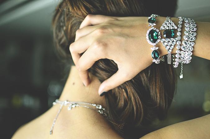 Swarovski | #StyleYourWayToParis | www.akanksharedhu.com | back n bracelets