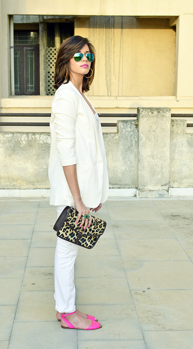 #SportySexyGlam | Michael Kors | full side outifit