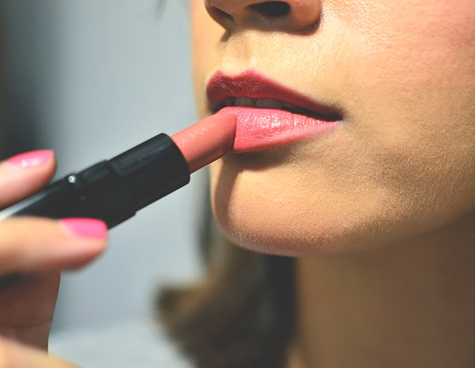 Inglot Matte Lipsticks | www.akanksharedhu.com | brown on lip