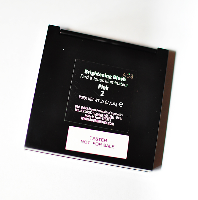 Makeup Pick Me Ups | Bobbi Brown | www.akanksharedhu.com | blush back