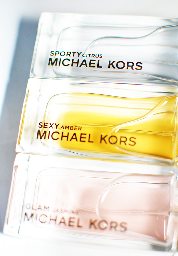 #SportySexyGlam | Michael Kors | all 3 only liquid bottle