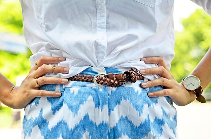 Chevron | www.akanksharedhu.com | belt