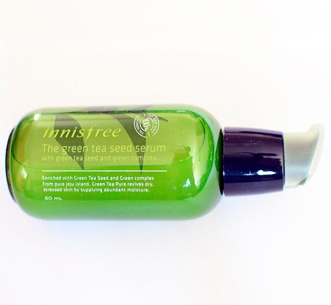 Beauty Stash | Innisfree | www.akanksharedhu.com | serum bottle