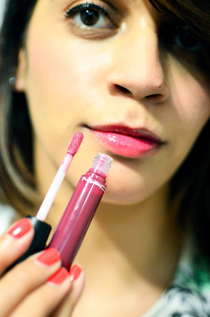 Current MAC Faves | www.akanksharedhu.com | mineralize lipglass with bottle