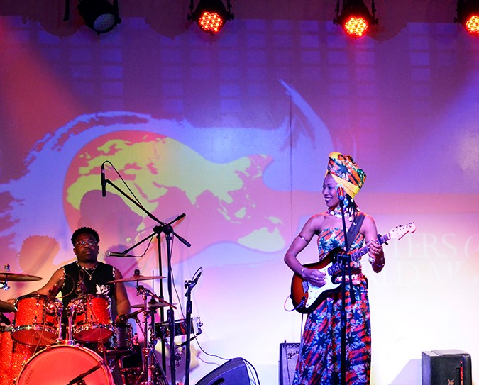 Masters of World Music | Blackberrys Sharp Nights | Akanksha Redhu | Fatoumata with band