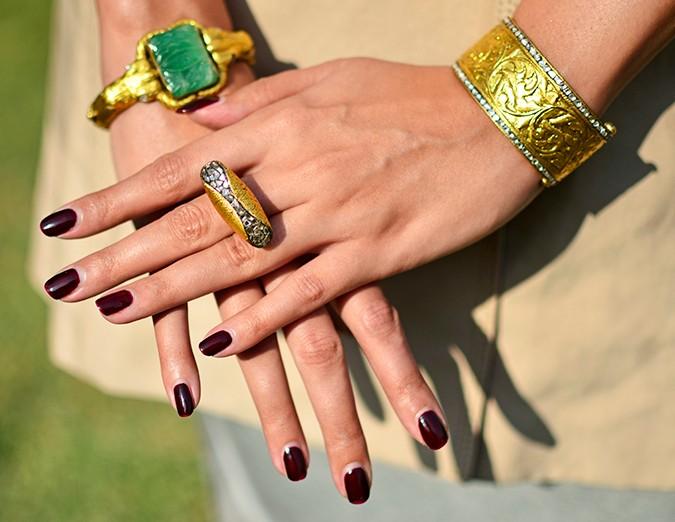 #FutureHeirlooms | LoveGold | Akanksha Redhu | hand accessories