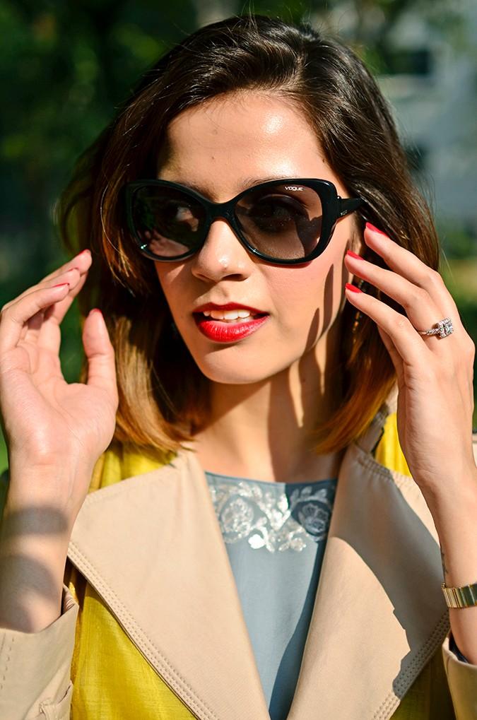 Indo-Western Style | Kokum | Akanksha Redhu | vogue eyewear