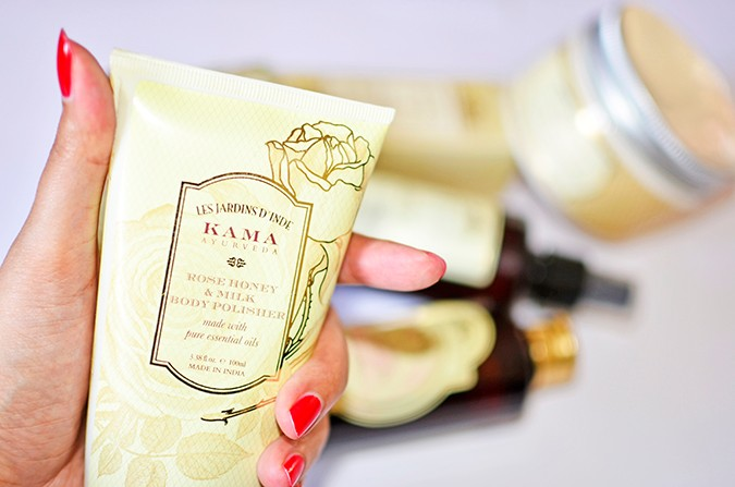 Current Favorites | Kama Ayurveda | Akanksha Redhu | body polisher