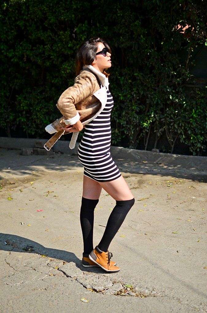 Stripes | Akanksha Redhu | side full jacket push