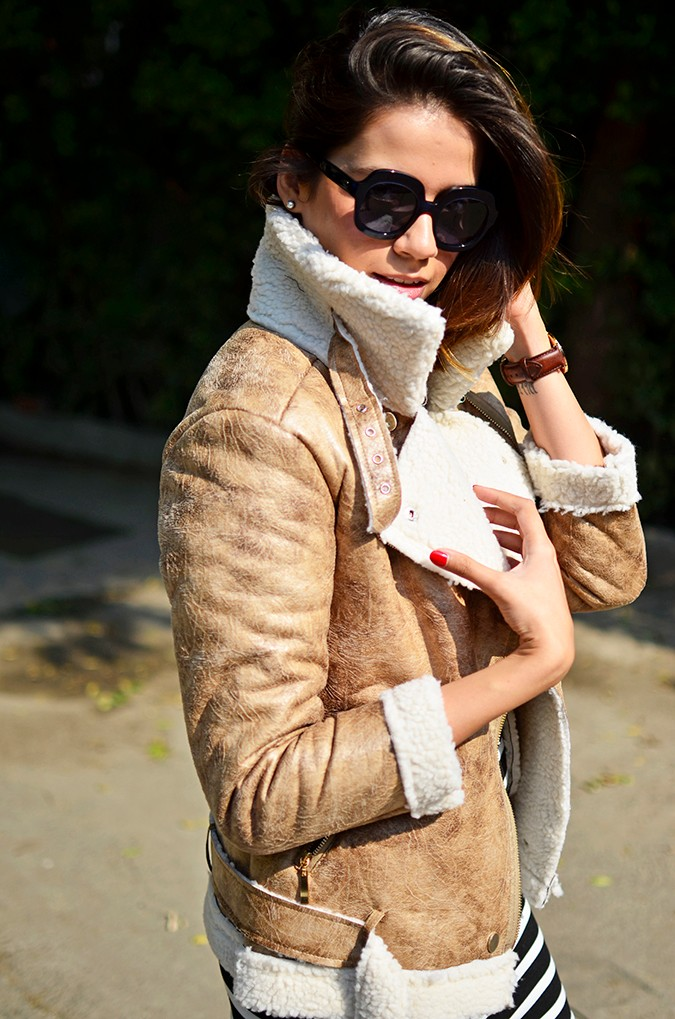 Stripes | Akanksha Redhu | half side most jacket