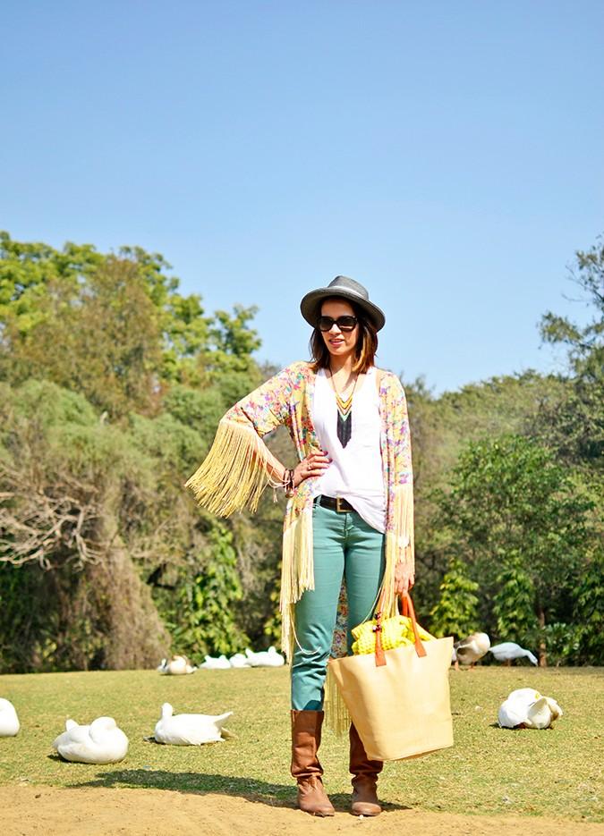 Hippie Kimono | Akanksha Redhu | with the geese