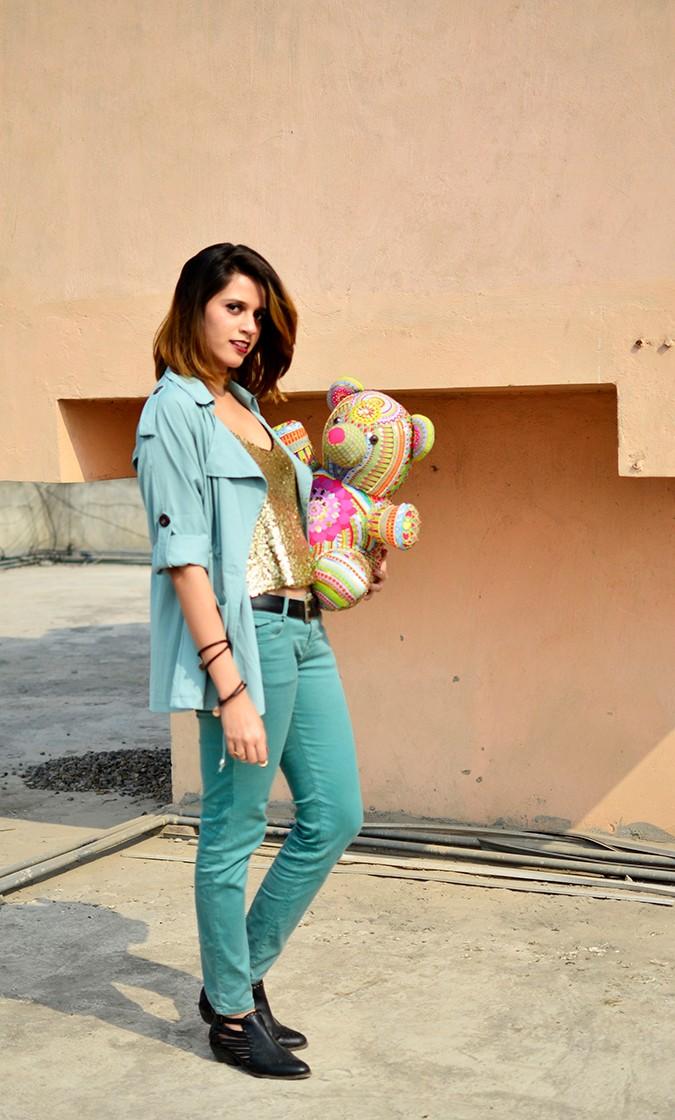 Manish Arora Teddy Bear | ExclusivelyIn | Akanksha Redhu | teddy on side waist with jacket