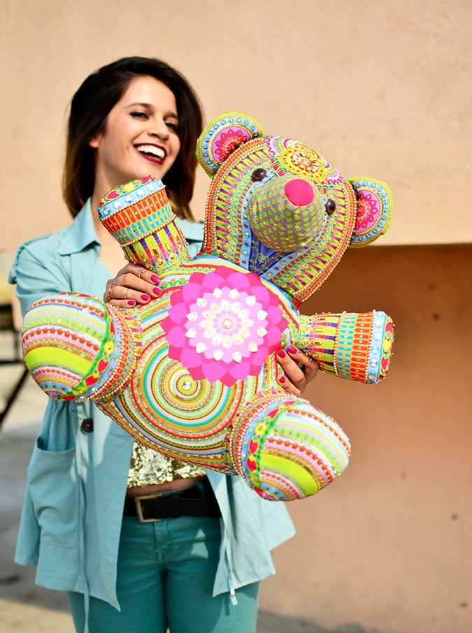 Manish Arora Teddy Bear | ExclusivelyIn | Akanksha Redhu | teddy front focus